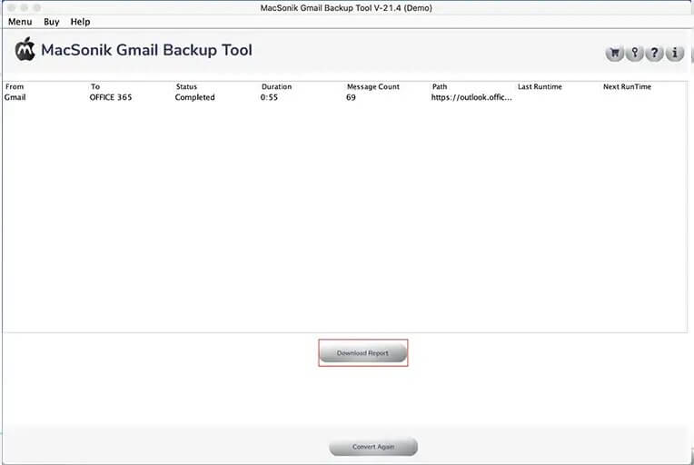 migrate email from Gmail to Exchange online